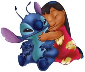 Lilo-Stitch-Hug-#belicosa555
